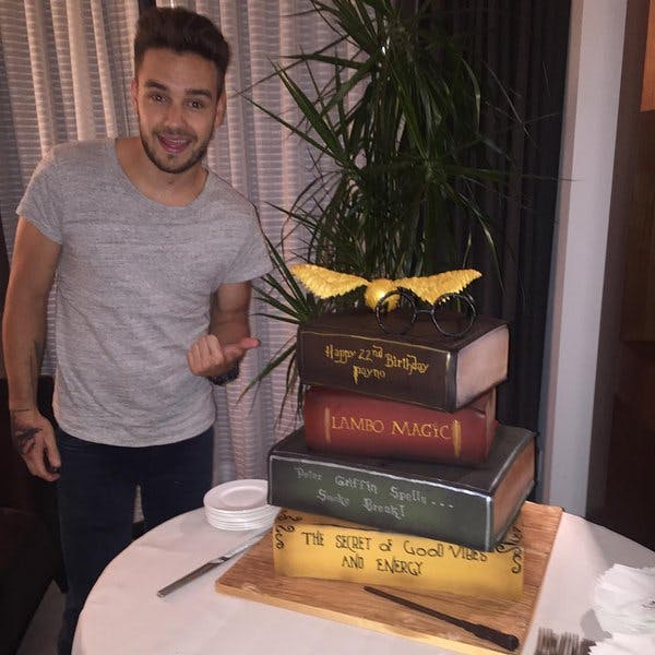 Liam Payne wishes he was Harry Potter