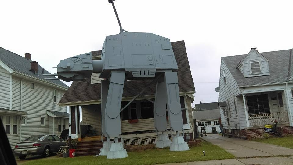 Neighbourhood AT-AT!