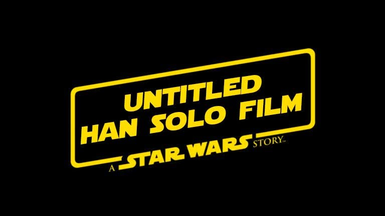 Untitled Han Solo Film: A Star Wars Story