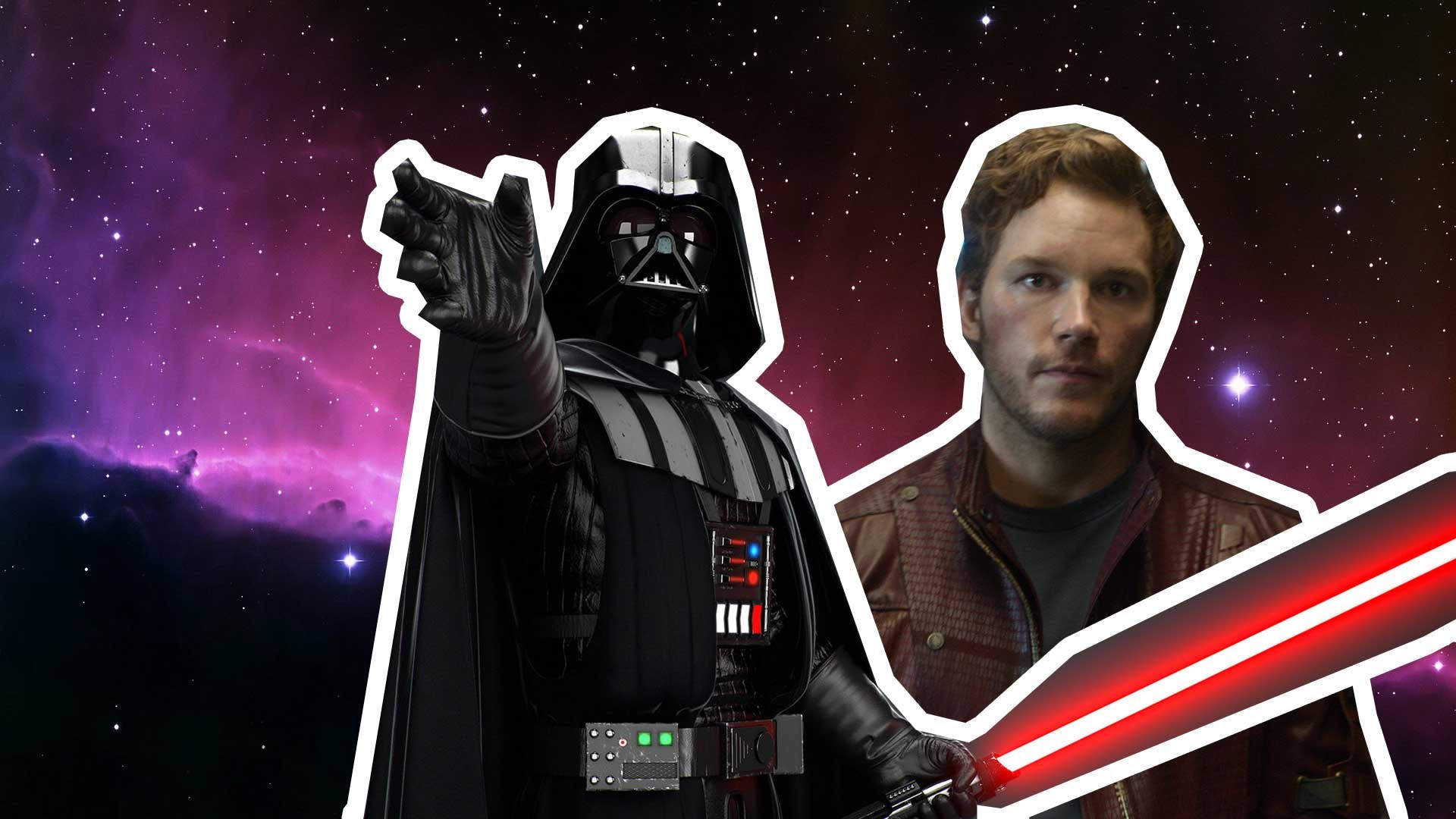The Secret Darth Vader / Star-Lord Connection!