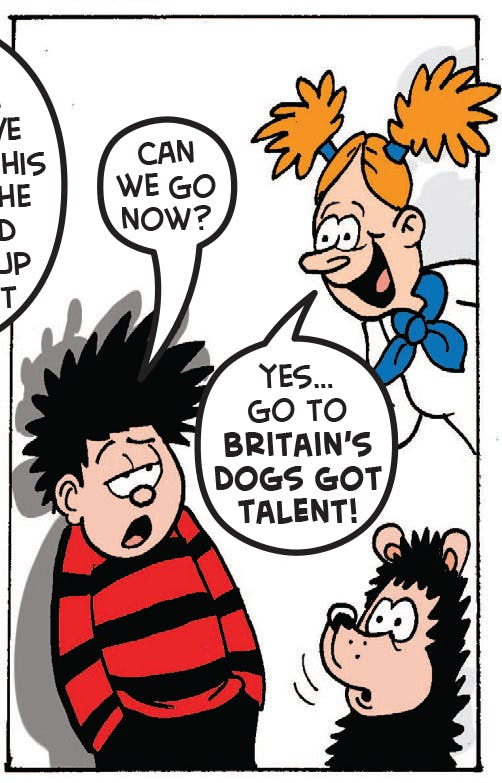 Gnasher's Got Talent