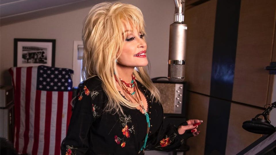 Dolly Parton singing