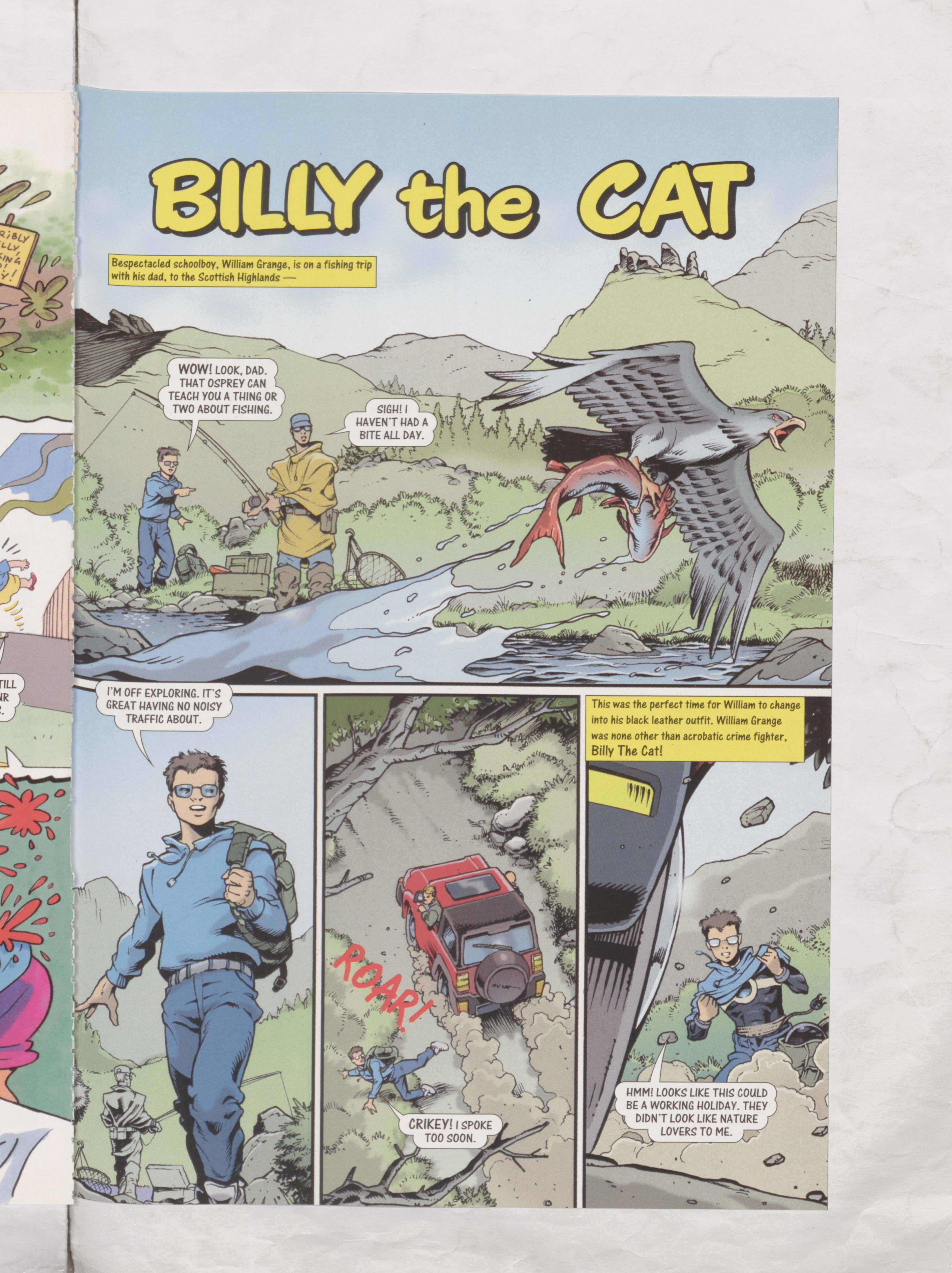 Billy the Cat - Beano Annual 2004
