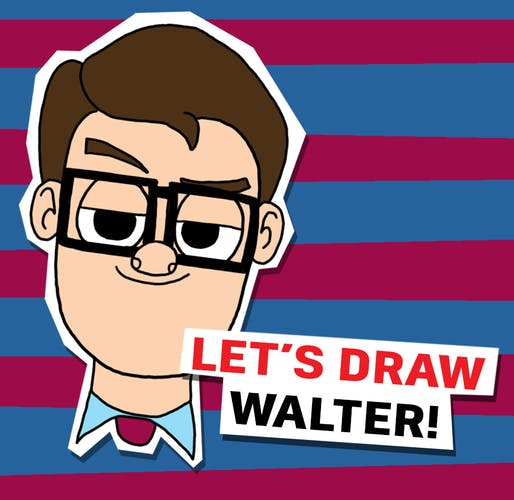 Let's Quick Draw Walter