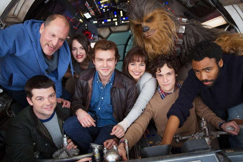 Han Solo cast and former directors