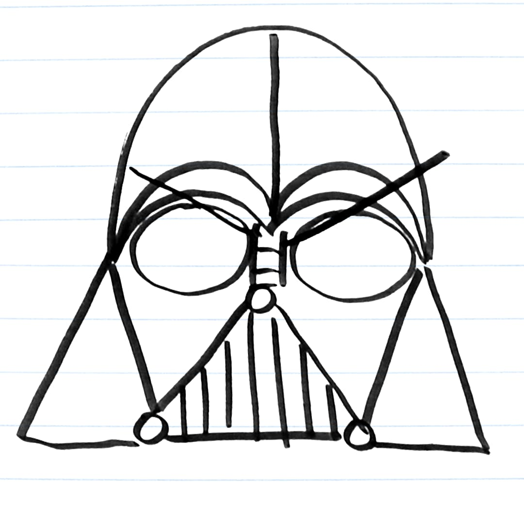 How To Quick Draw 5 Villains From Star Wars Quick Draw Draw On