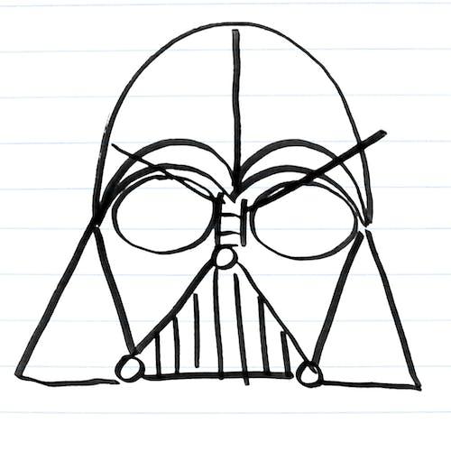 Darth Vader Drawing