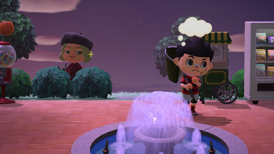 Minnie the Minx plays Animal Crossing too!