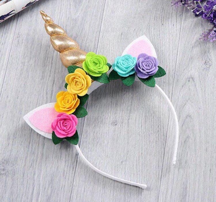 A unicorn horn