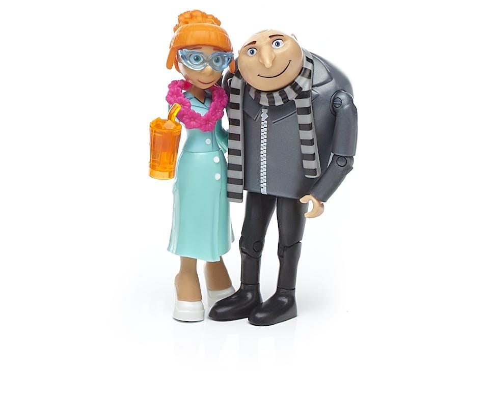 Gru and Lucy Mega construx