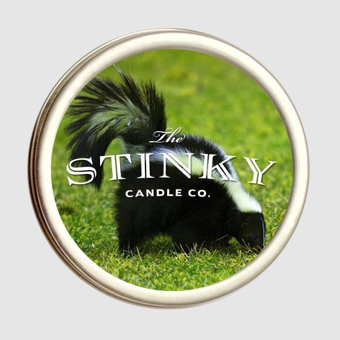 Skunk candle