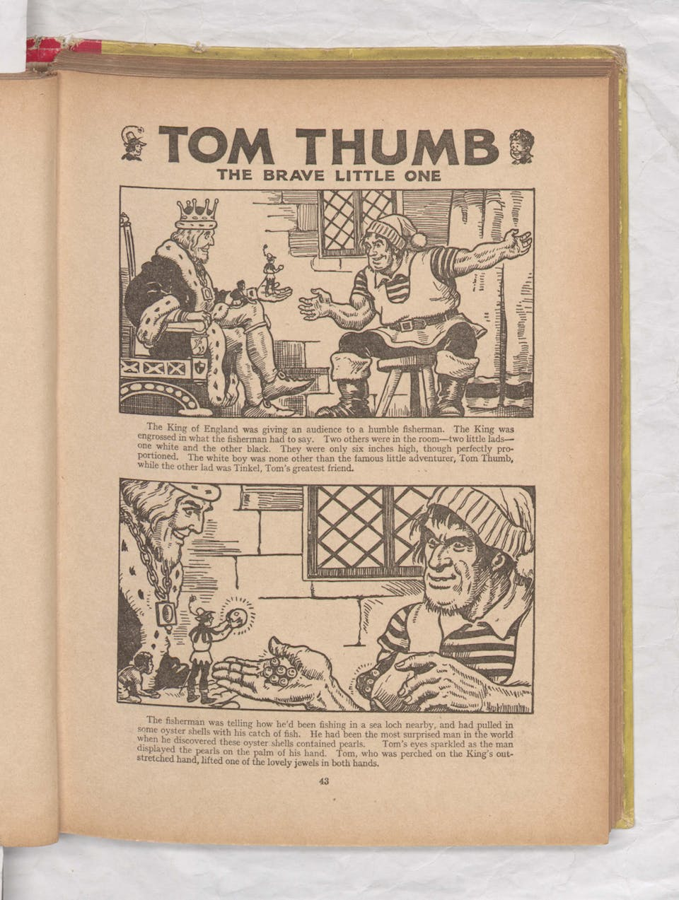 Beano Book 1942 - Tom Thumb