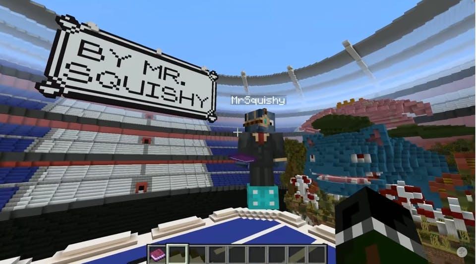 MrSquishy in the Pokemon stadium