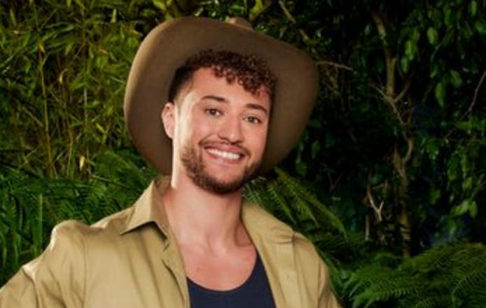 Myles Stephenson on ITV's I'm a Celebrity, Get Me Out of Here!