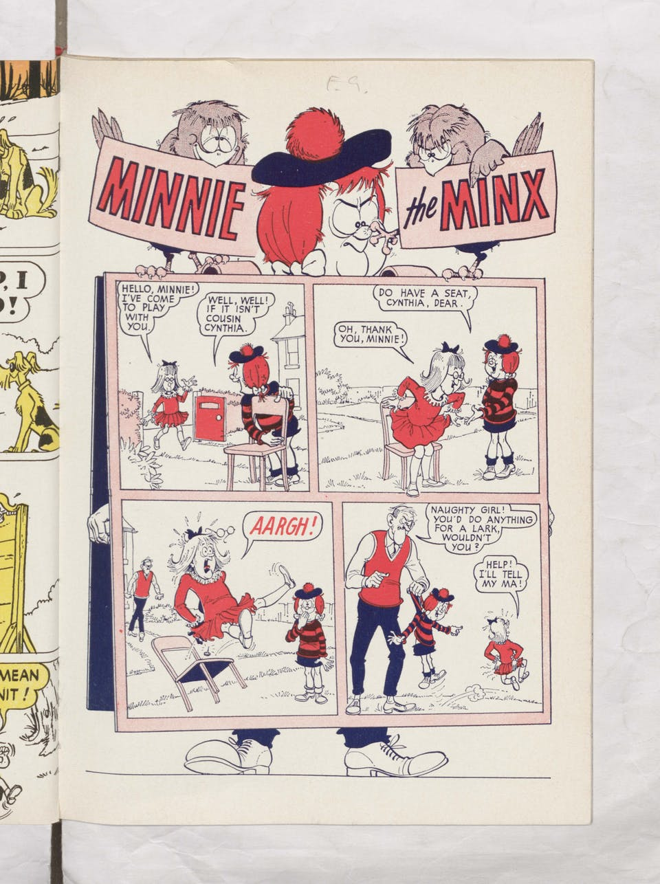 Minnie the Minx - Beano Book 1966