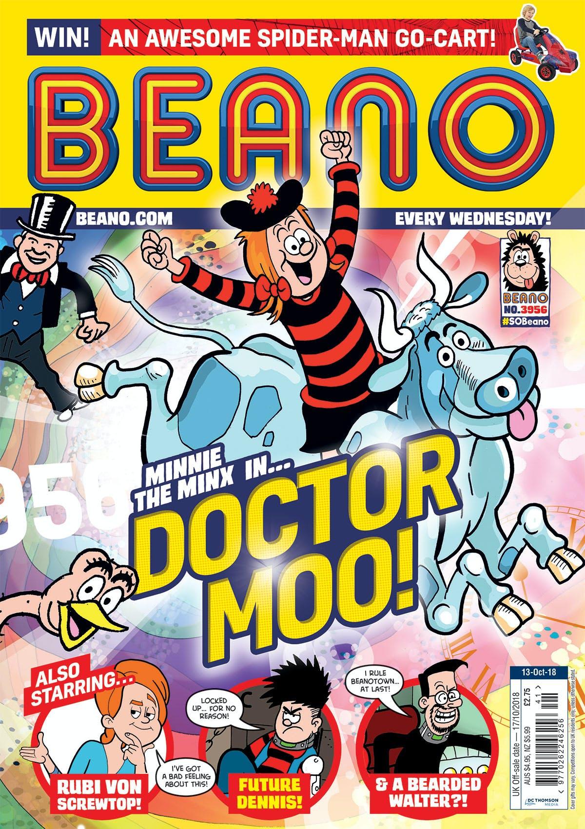 Inside Beano 3956 - Doctor Moo!?