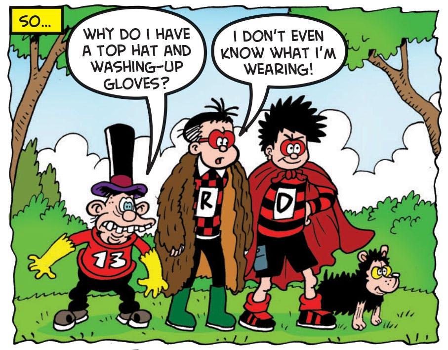 Dennis and the Amaze-O-Team