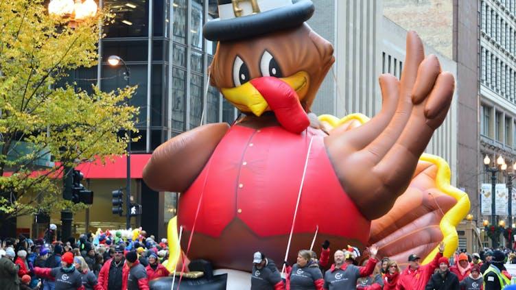 A Thanksgiving Day parade