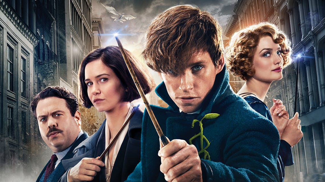 Fantastic Beasts: the main gang