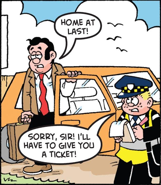 Les Pretend - The Traffic Warden