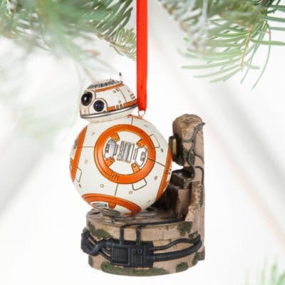 bb 8 light up tree bauble