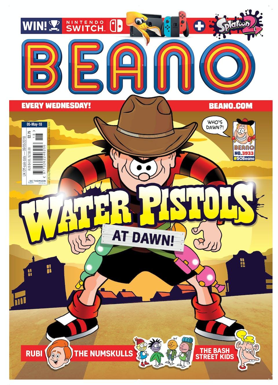 dennis the menace water pistols