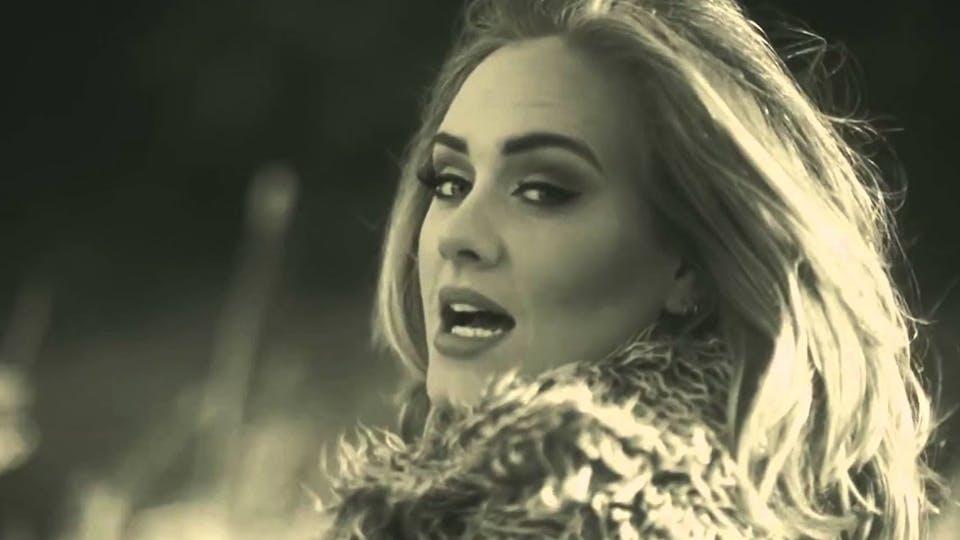 Pop star Adele