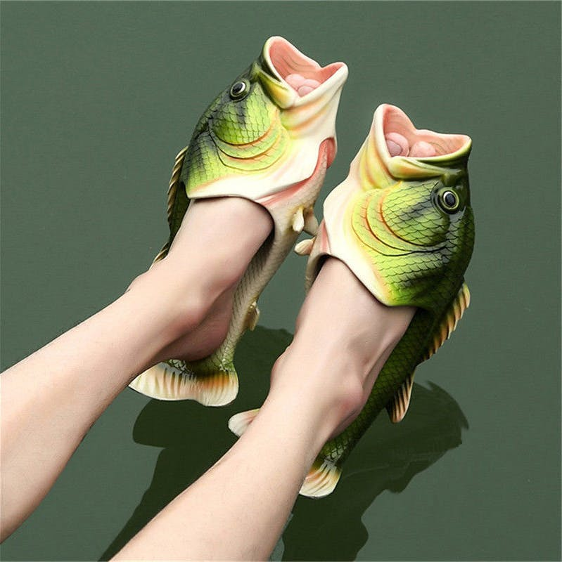 would you rather that or some fish sandals