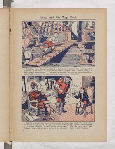 Jimmy and His Magic Patch - Page 4 - Beano Book 1944 Annual