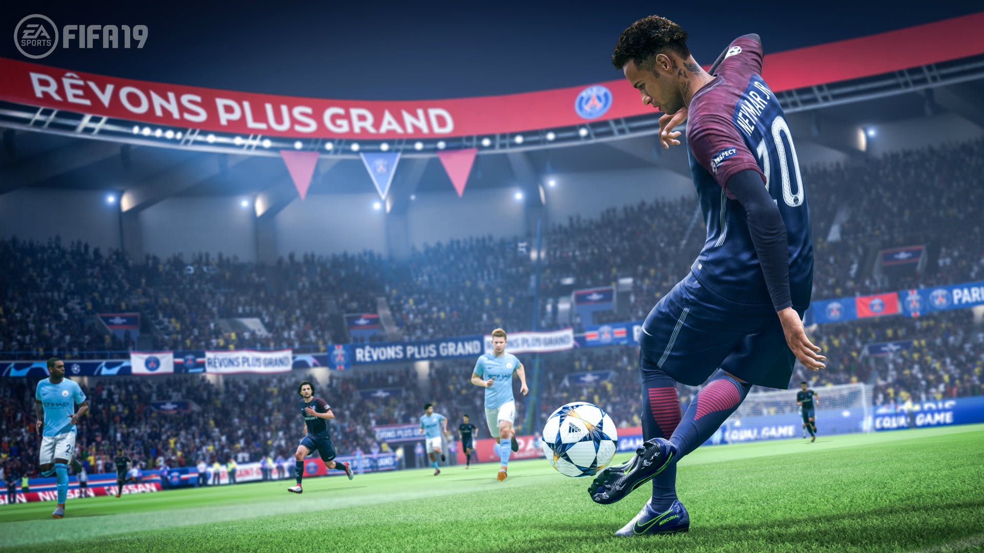 A screenshot of FIFA 19