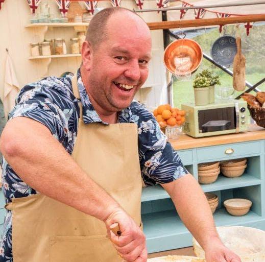 Great British Bake Off contestant Jon