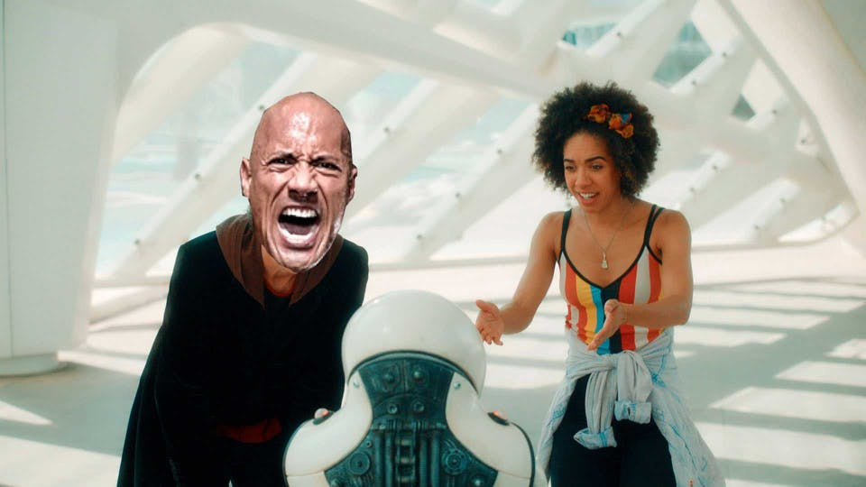 "Dwayne ""The Rock"" Johnson in Doctor Who"