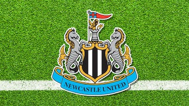 A Newcastle United club badge