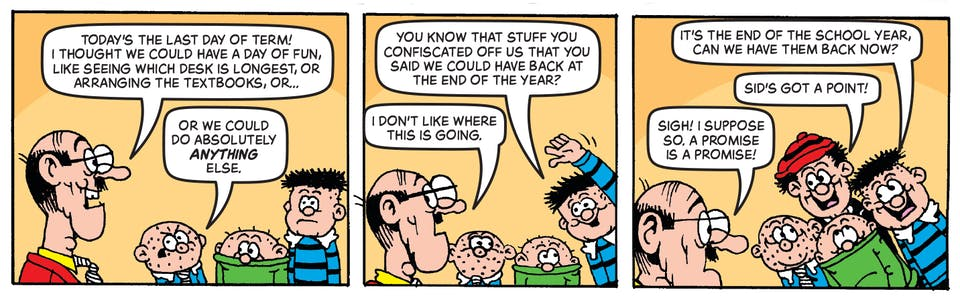 Inside Beano no. 3994 - Bash Street Kids