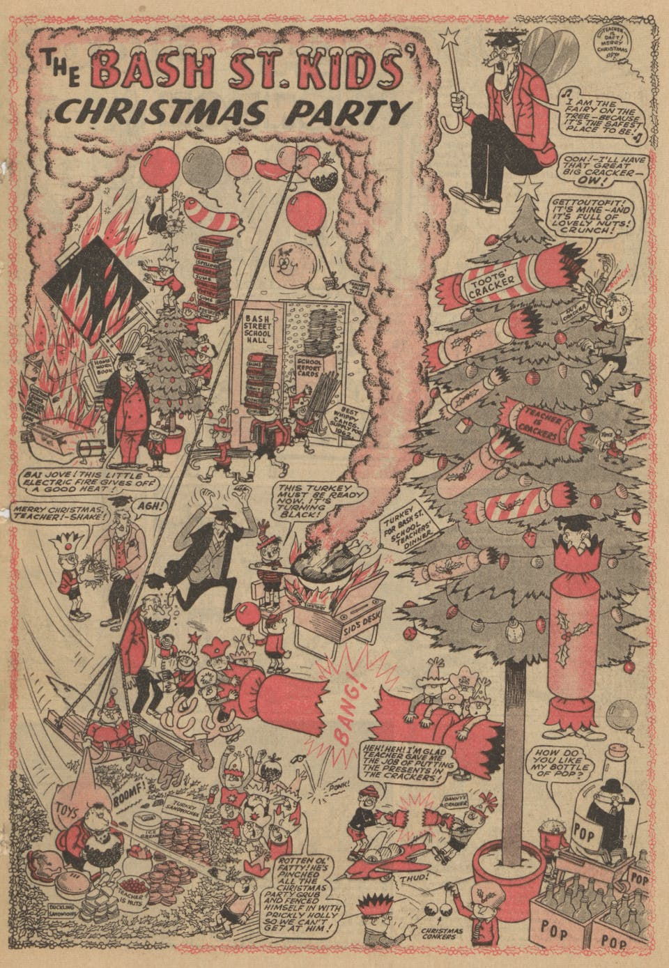 Bash Street Kids Christmas 1961