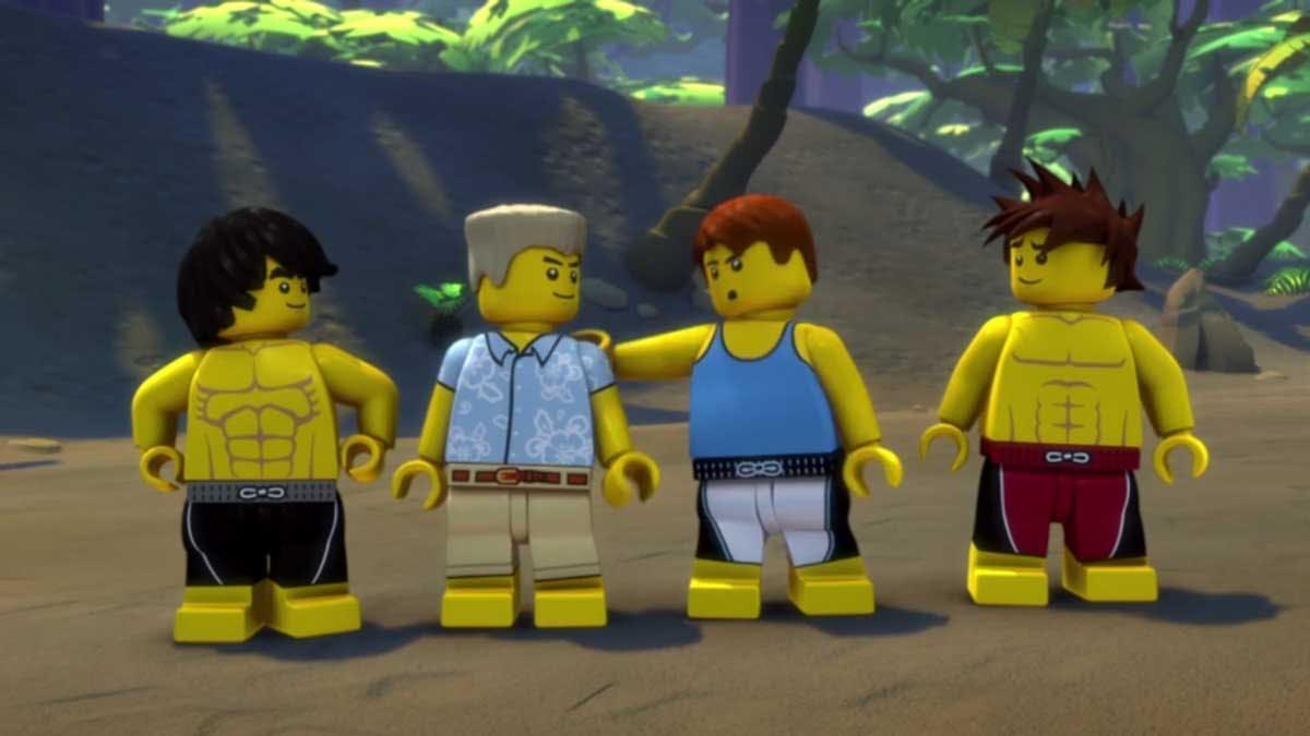 LEGO Ninjago: Masters Of Spinjitsu