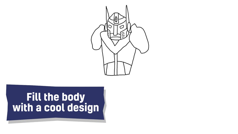 How to draw a Transformer