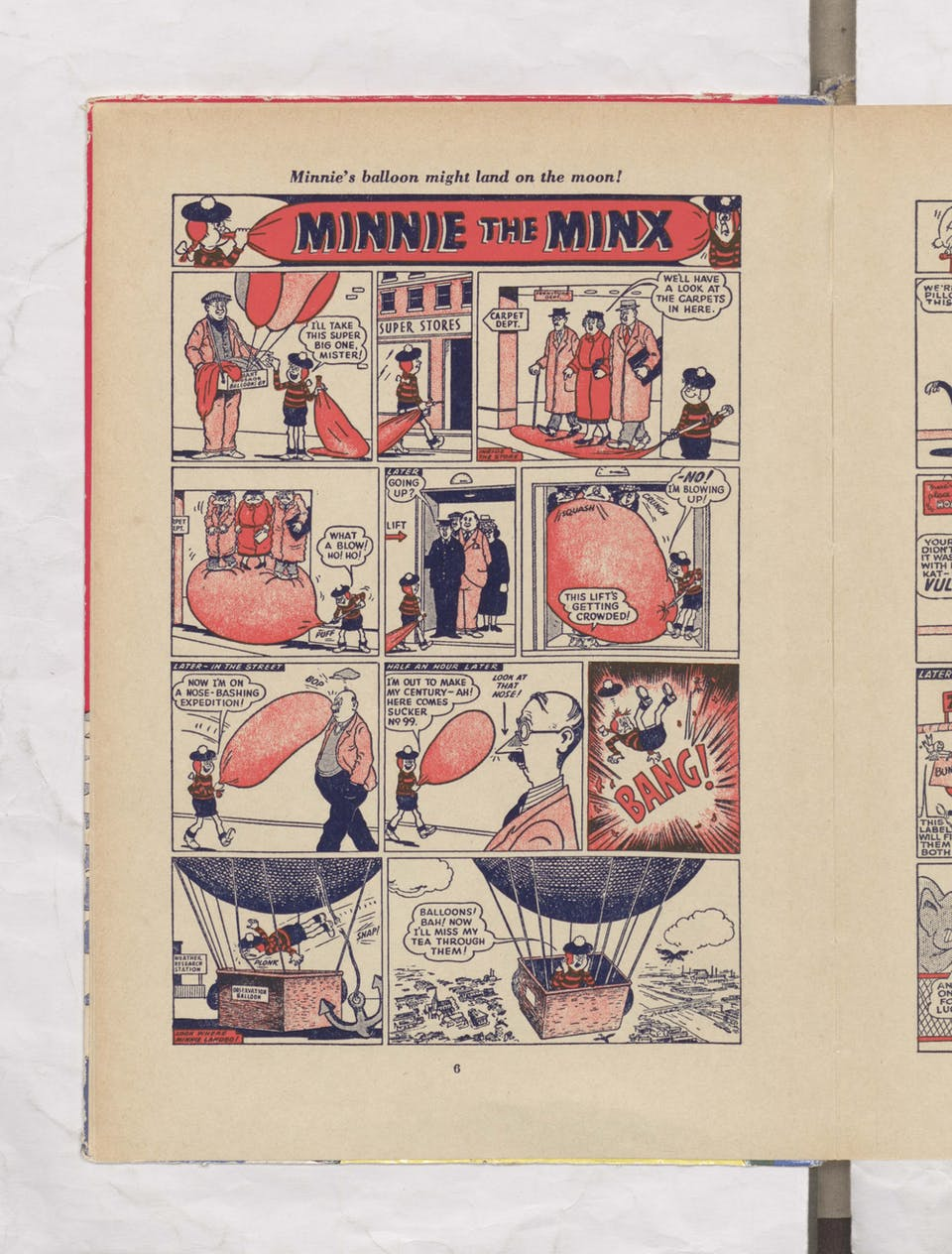 minnie the minx beano book 1956 annual