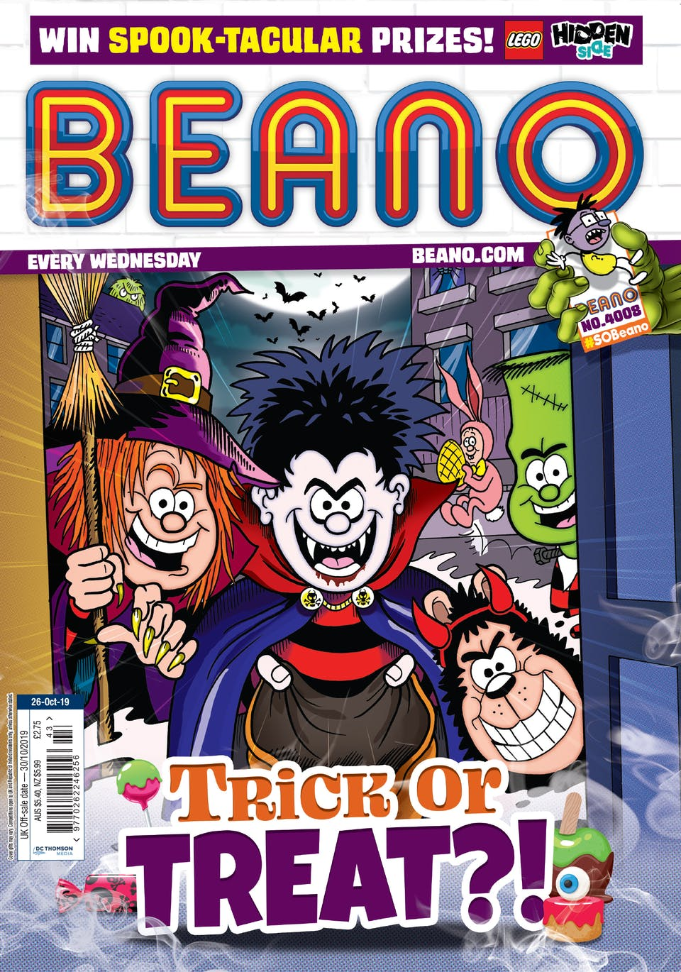 Inside Beano 4008 - Trick or Treat?!
