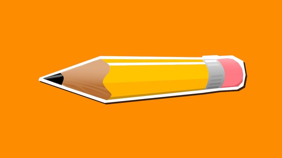 Pranks for school: Pencil