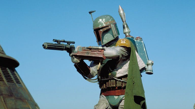 Boba Fett in Return Of The Jedi - classic Star Wars bad guys