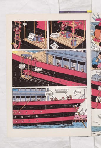 The Beano Stars Cruise Round the World - Beano Book 2000 Annual - Page 4
