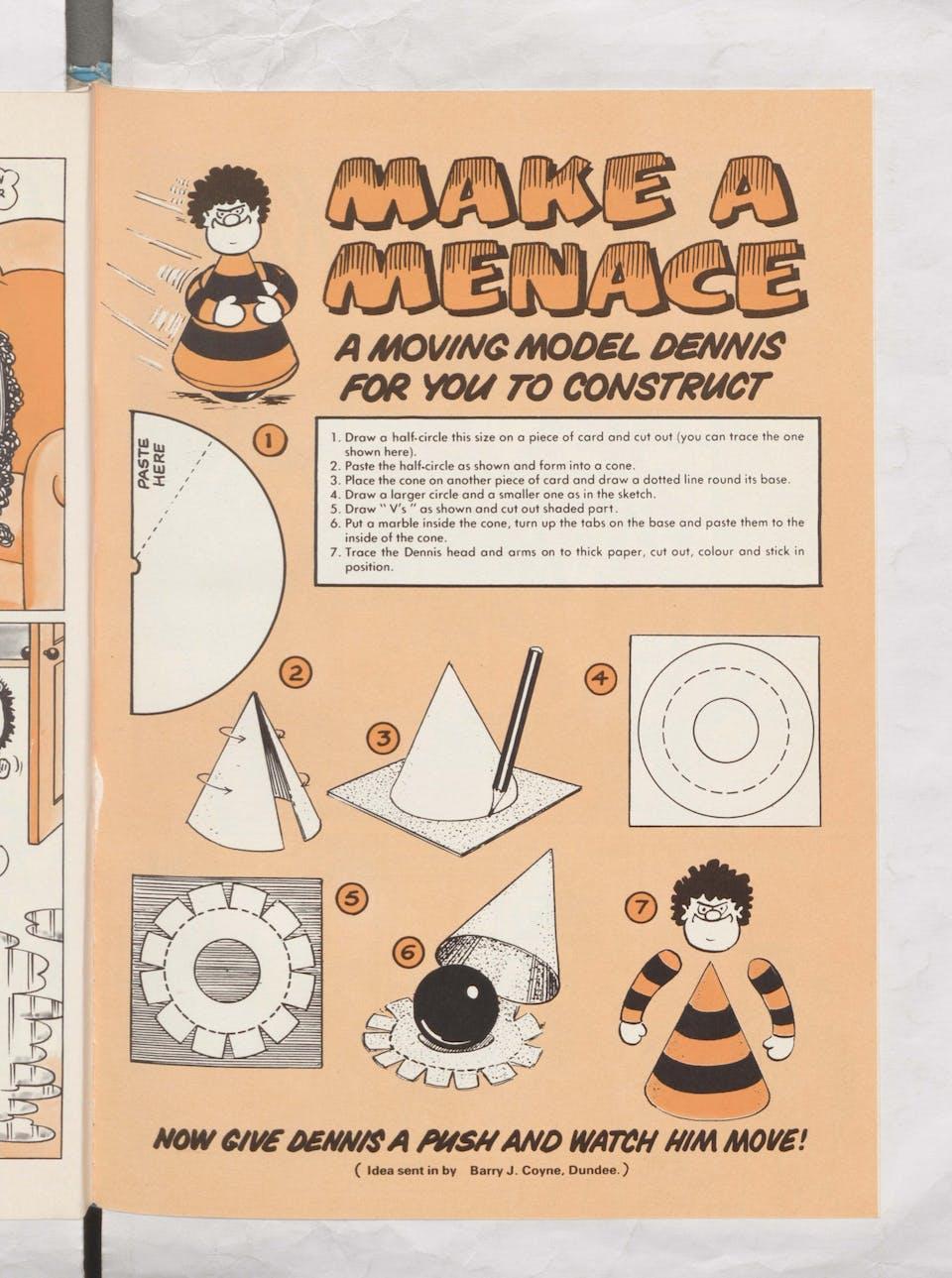 Make a Menace! - Beano Book 1984 Annual