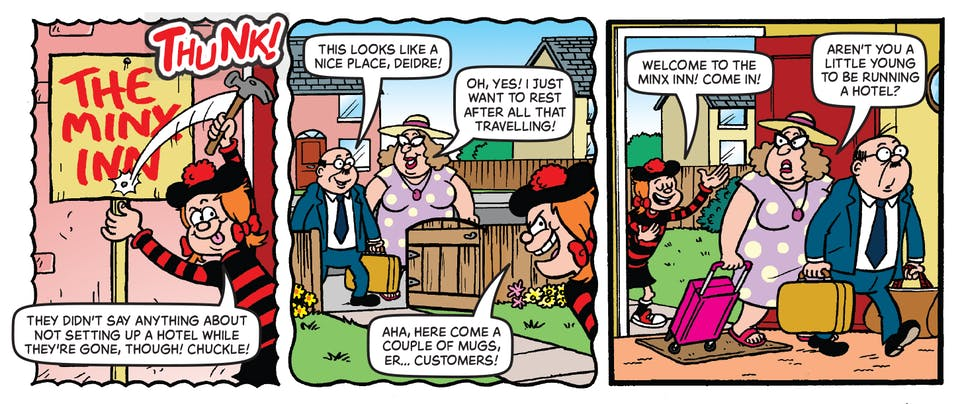 Inside Beano 3982 - Minnie