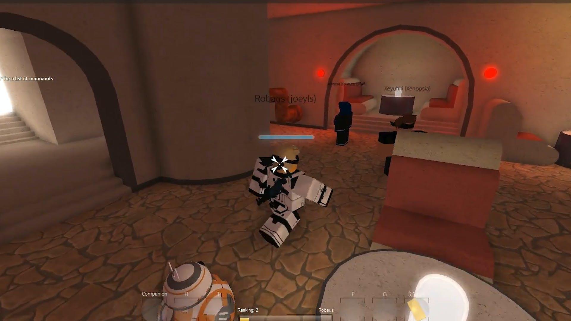 Best Roblox Games: Star Wars Offline Adventure screen shot