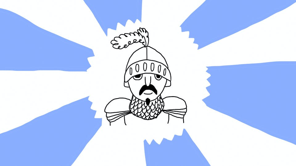 Quick Draw - A Knight | Drawing on Beano.com