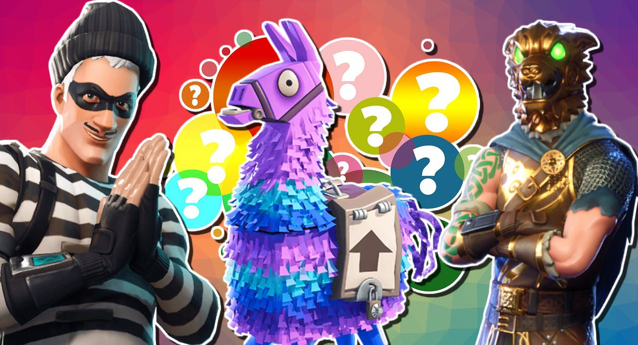 Personality Quiz Which Fortnite Skin Are You Fortnite Quiz On