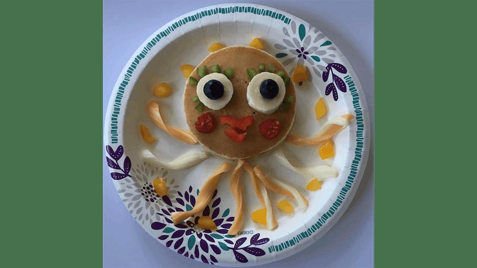 Octopus pancakes