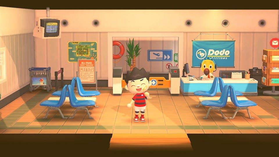 Welcome to Beano island airport!