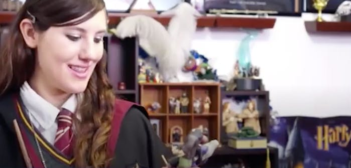 Katie has a Harry Potter collection worth £40,000